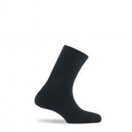 Mi-chaussettes tout bouclette en coton