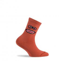 Mi-chaussettes Monster en coton