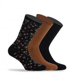 Pack de 3 paires de chaussettes en coton
