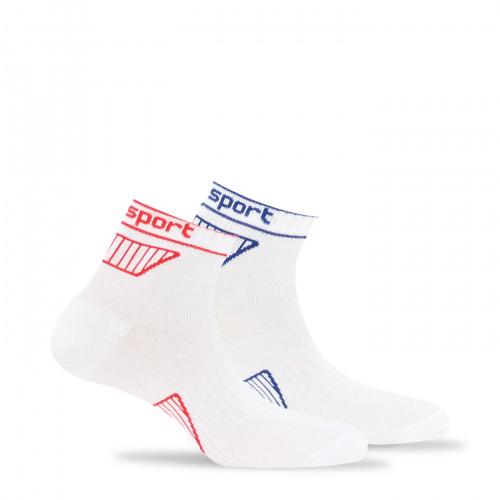 Lot de 2 paires de chaussettes ultra courtes sport