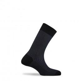 Mi-chaussettes en fil d'écosse fabriquées en France