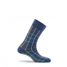 Chaussettes à carreaux  fabriquées en France